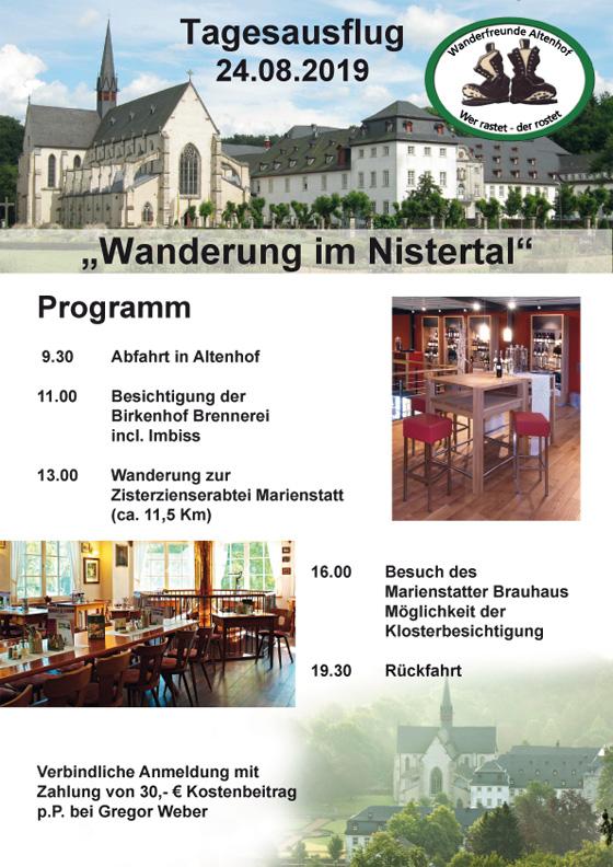 "Wanderung im ""Nistertal"""